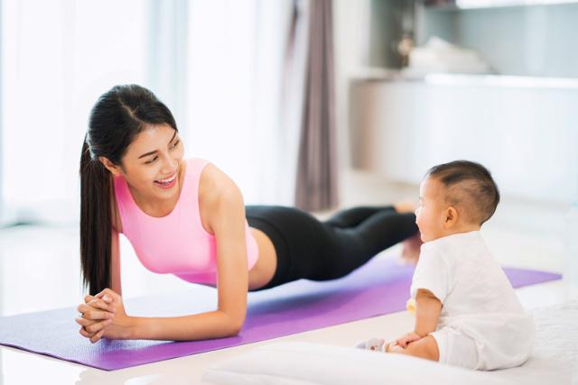 6 patarimai, kaip sėkmingai numesti svorio po gimdymo