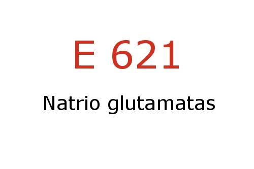 Skonio stipriklis E621 (natrio glutamatas)