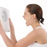 nesiseka numesti svorio, mergina, svarstykles