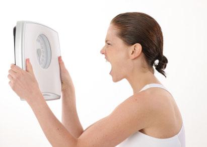 Kodėl kartais sunku numesti svorio